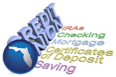 fl map icon and credit union services