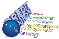 hi map icon and credit union services