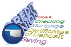 ok map icon and credit union services