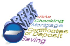 tn map icon and credit union services